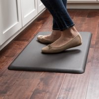 NewLife by GelPro Designer Comfort Mat - 18x30 - Grasscloth Charcoal
