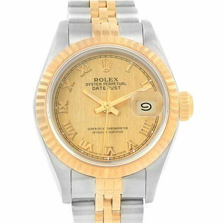 Rolex Datejust 69173 Brass Women Watch (Certified Authentic & Warranty)