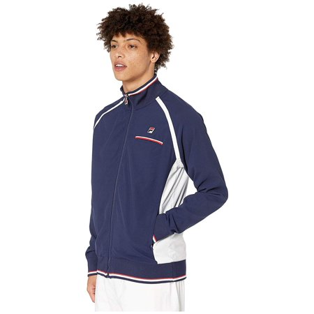 Fila Heritage Tennis Jacket Navy/White/Chinese Red