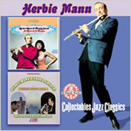 Full title: Mann & A Woman/Herbie Mann & Joao Gilberto With Antonio Carlos Jobim.<BR>2 LPs on 1 CD: MANN & A WOMAN (1967)/HERBIE MANN & JOAO GILBERTO WITH ANTONIO CARLOS JOBIM (1966).<BR>The Joao Gilberto tracks, arranged by Antonio Carlos Jobim, were recorded in the early 60's and do not feature Herbie Mann.<BR>Personnel includes: Herbie Mann (flute, alto flute); Tamiko Jones (vocals); Joao Gilberto (vocals, guitar); Antonio Carlos Jobim (arranger, vocals, piano); Baden Powell (guitar).<BR>Originally released on Atlantic (8141) & Atlantic (8105).