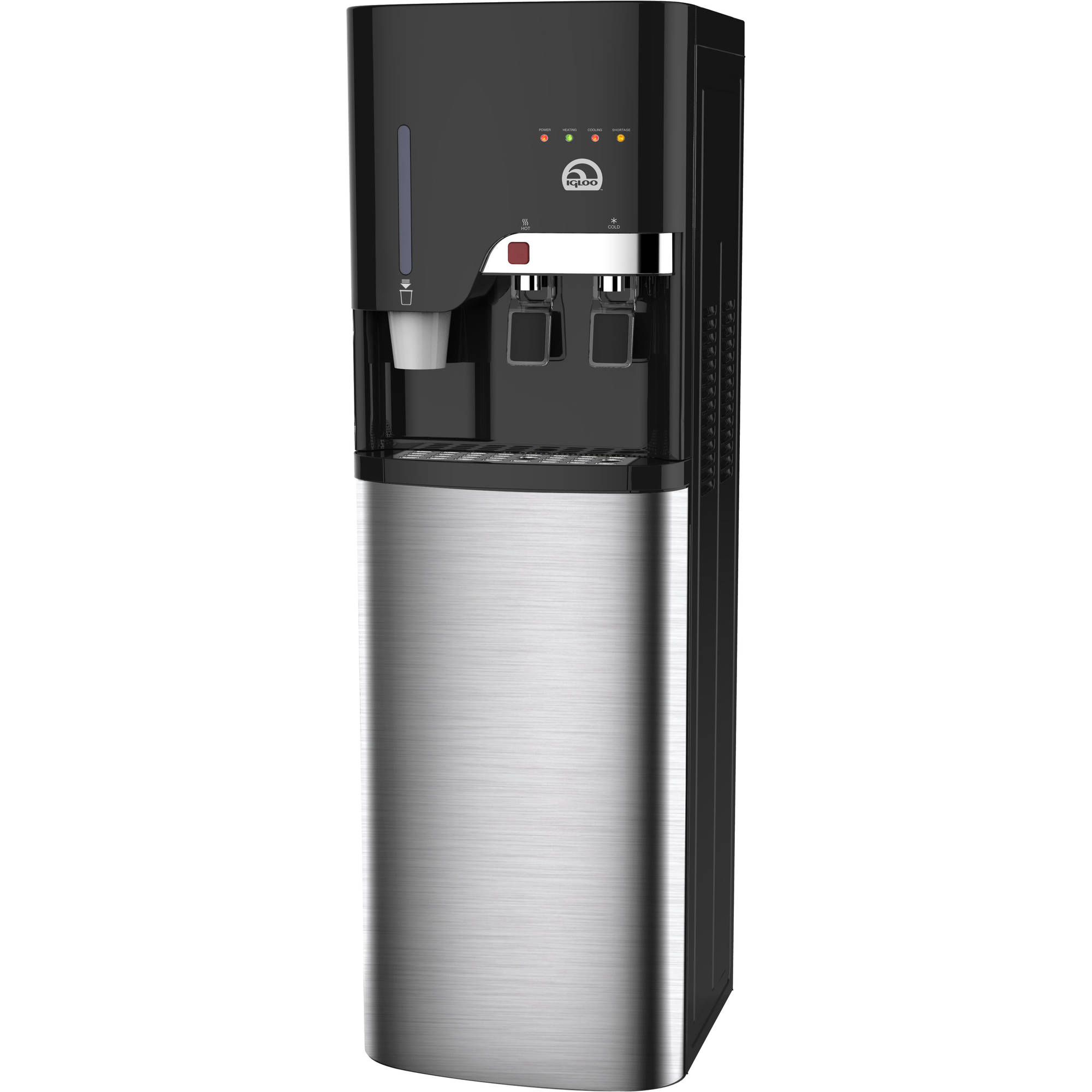 Igloo Bottom-Loading Water Dispenser, Platinum