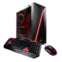 iBUYPOWER Slate8960A - Gaming Desktop pc - AMD Ryzen 5 2400 - 8GB DDR4 Memory - 1TB Hard Drive - Slate8960A