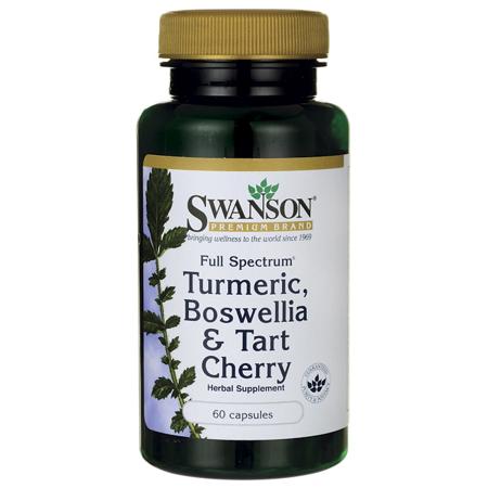 Swanson Full Spectrum Turmeric  Boswellia   Tart Cherry 60 Caps
