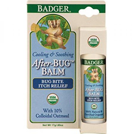 Badger Balm After-bug Itch Relief Stick .60 Oz Hang Tag Box, 0.6 Ounce ()