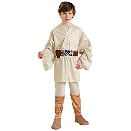 Luke Skywalker Halloween Costume Child (Rubie's Costume Star Wars Classic Luke Skywalker Child Costume,)