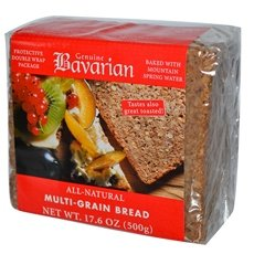 Bavarian Breads Rye, Multigrain, 17.6-Ounce (Pack of 6) by GENUINE BAVARIAN
