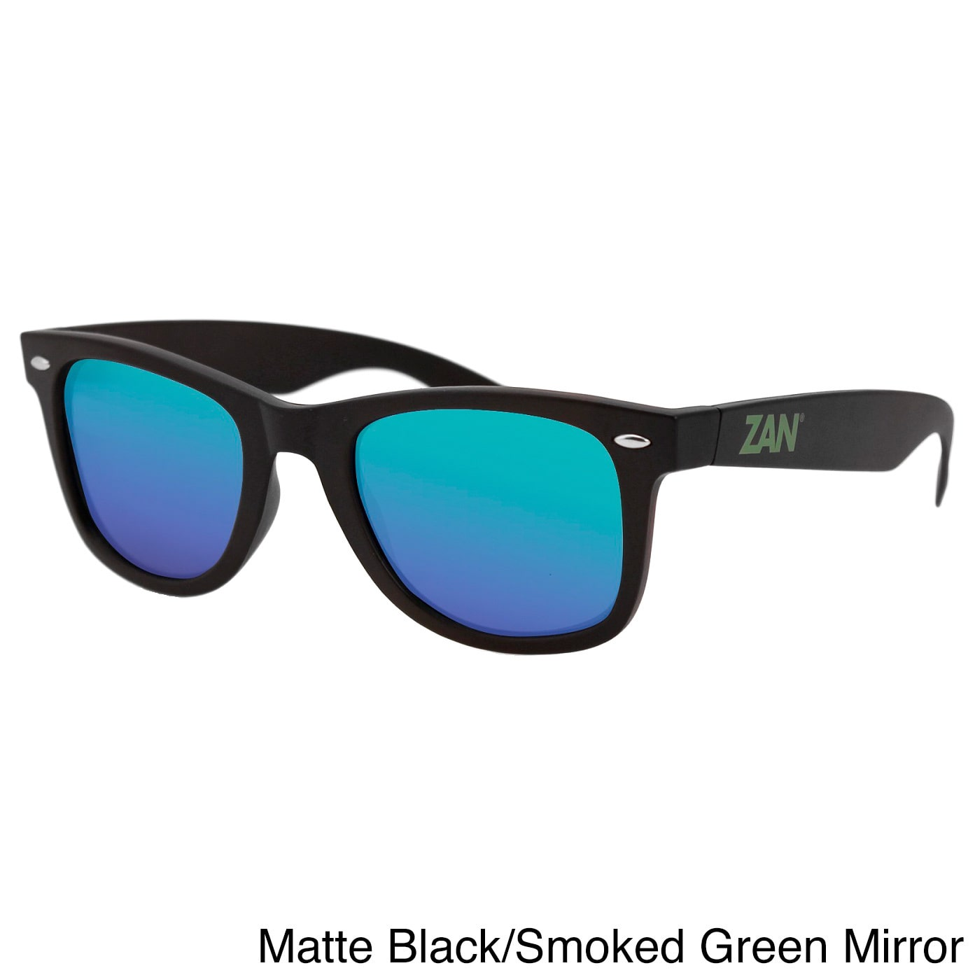 4d483eecd5 ZANheadgear - Winna Sunglasses with Tortoise Frame-Smoked Green Mirror -  Walmart.com