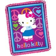 Throw Kit Hello Kitty Peace And Love