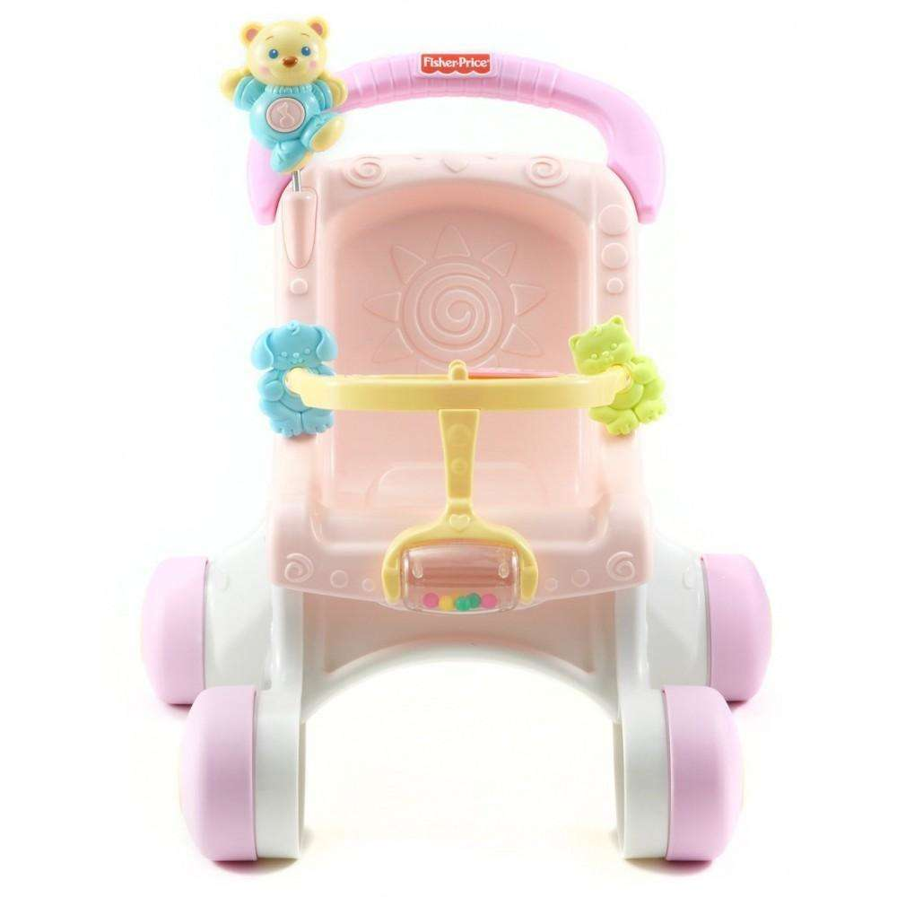 Fisher Price Brilliant Basics Stroll-Along Walker by Fisher-Price