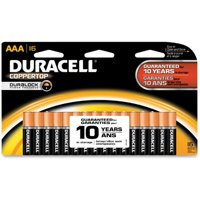 16 Pack Duracell Coppertop Alkaline AAA Batteries + $15.98 Back in Rewards