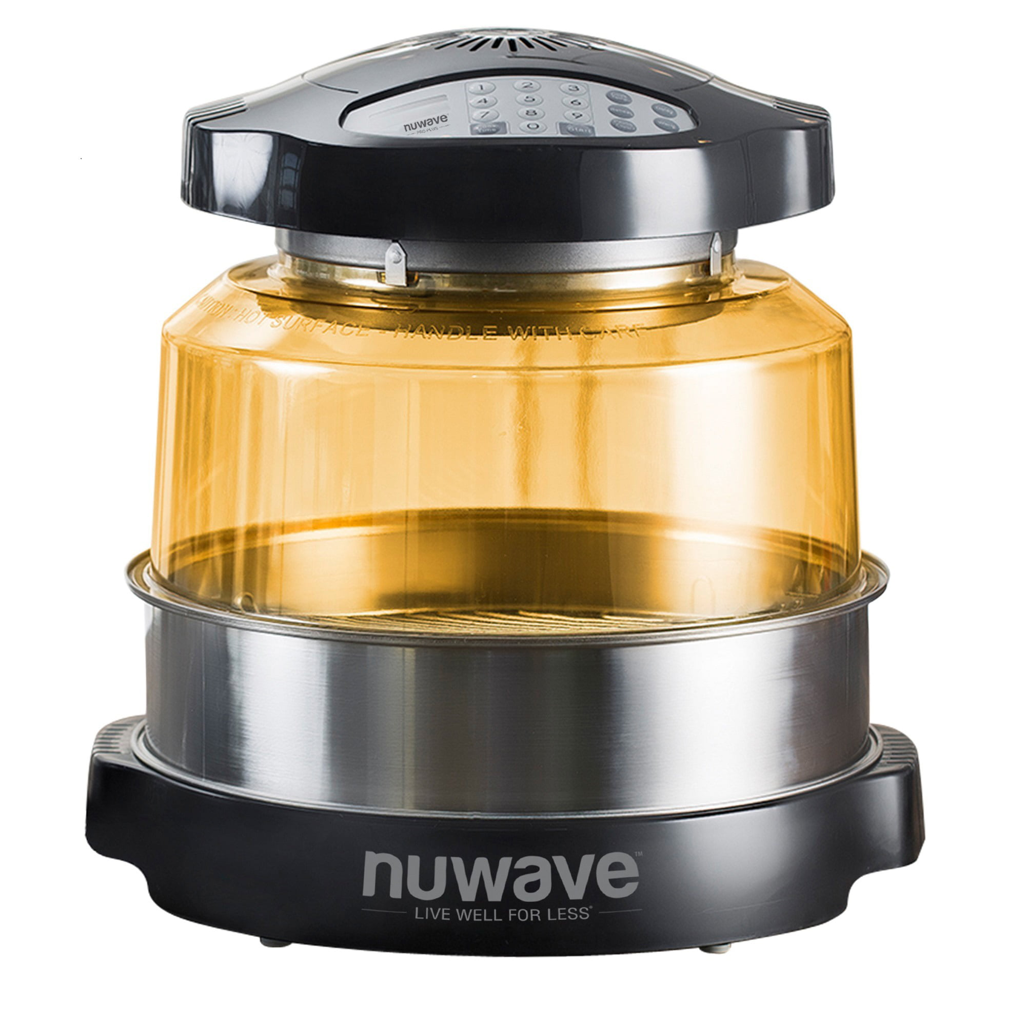 NuWave Oven Pro Plus with Extender Ring Kit