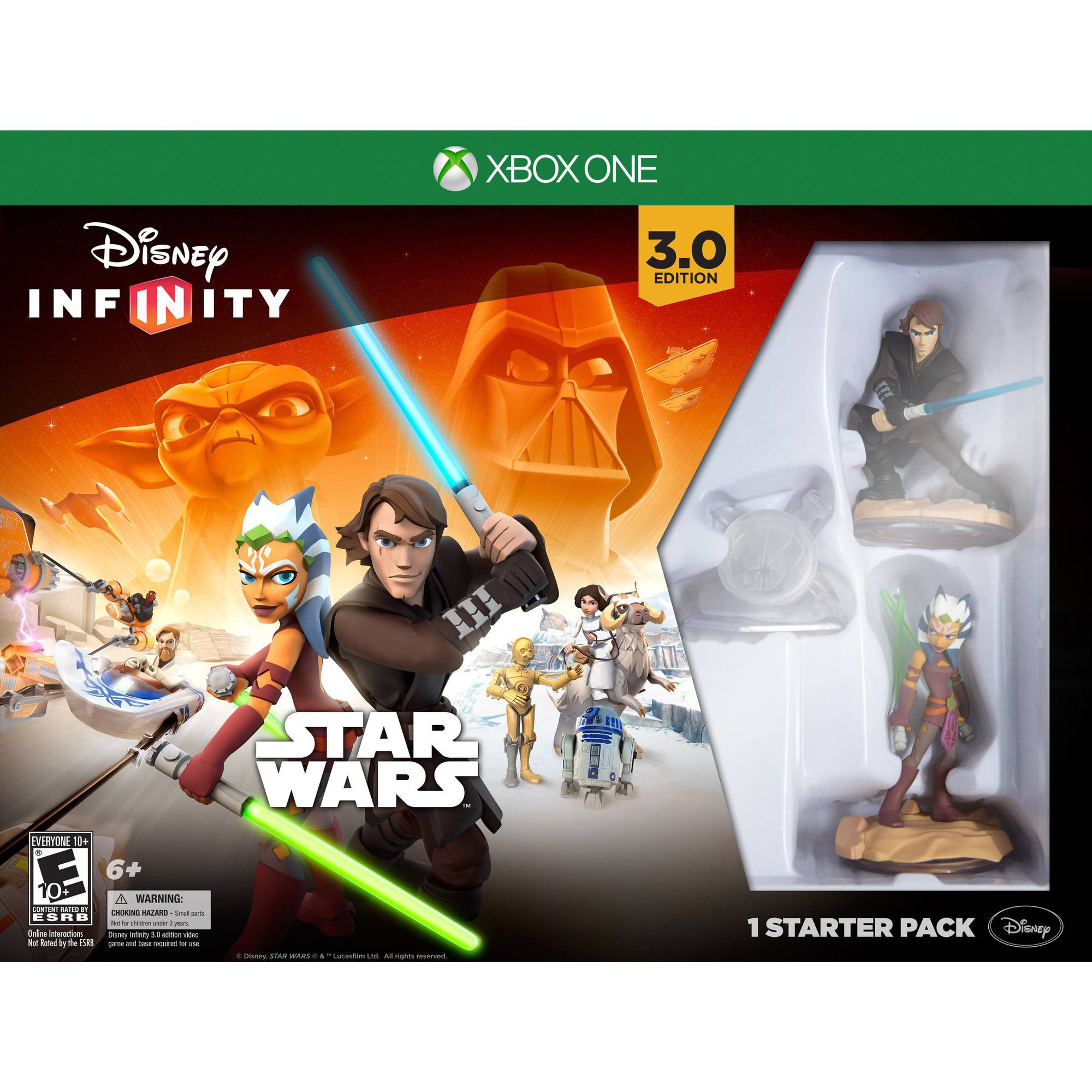 Disney Infinity 3.0 Edition Starter Pack (Xbox One) by Disney,Avalanche Software