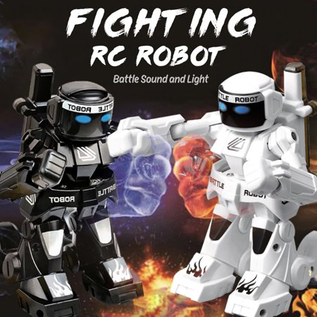 777-615 2.4G RC Robot Battle Boxing Robot Remote Control Fighting Robot for Parents and Kids Gift ()