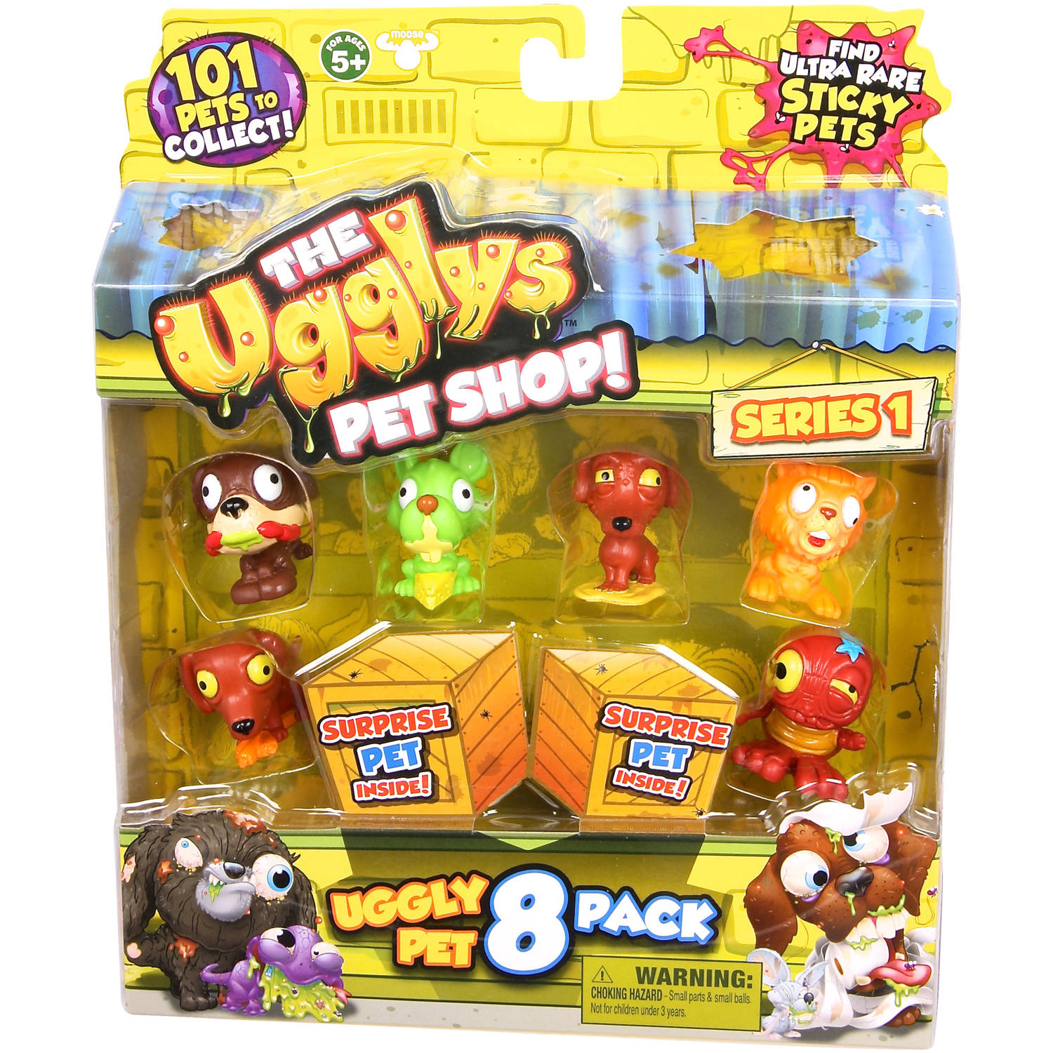 Moose Toys The Ugglys Pet Shop Season 1 8-Pack