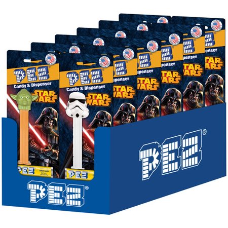 (4 Pack) PEZ Star Wars Candy & Dispenser, 2 pc](Star Wars Candy)