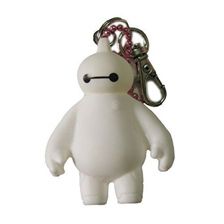 Big Hero 6 Toy Baymax Figure Pendant Keychain Hanging Accessories (6.5cm) White, Cute Big Hero 6 Baymax Figure By Young-lin ()