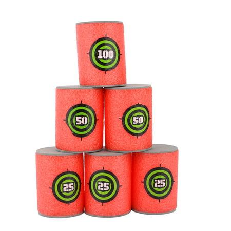 Dilwe 6PCS EVA Soft Target Bullet Darts Target Toy Series for Blasters](Frozen Toys Target)