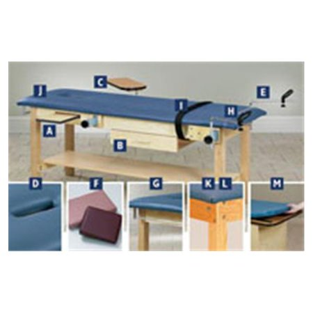 Clinton Scale Tables (WP000-5827396 40 40 Cutter Paper Option Elstc Strap 30' for Treatment Table Clearr Ea From Clinton Industries, Inc. )