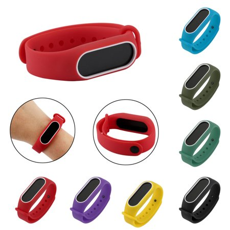 Hight Quality Replacement Silica Gel Wristband Band Strap For Xiaomi Mi Band 2 Bracelet