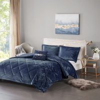 Home Essence Apartment Alyssa Velvet Duvet Cover Set