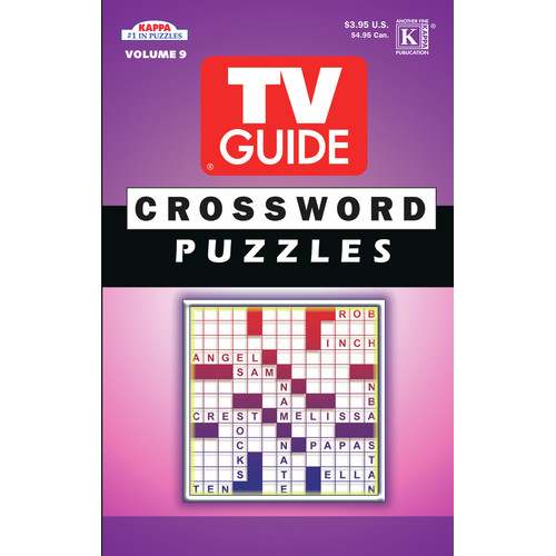 Universal Map TV Guide Crossword Puzzle Book (Set of 3)