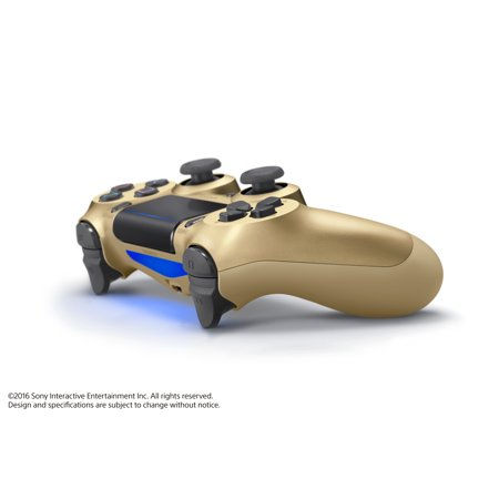 Best Sony PlayStation 4 DualShock 4 Controller, Gold, 3001818 deal