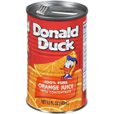 Disney Donald Duck: Orange Juice, 5.5 Fl Oz