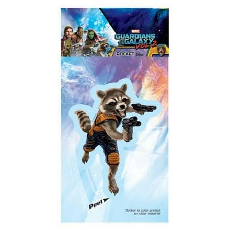 Guardians Of The Galaxy Vol 2 Rocket Raccoon Decal
