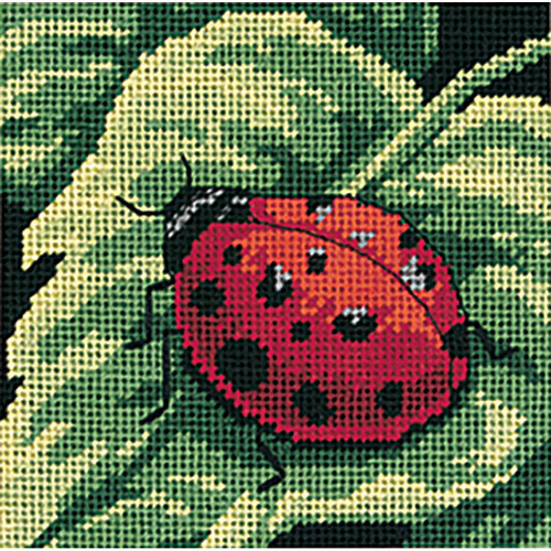 Dimensions Needlecrafts Needlepoint, Ladybug, Ladybug . . . Multi-Colored