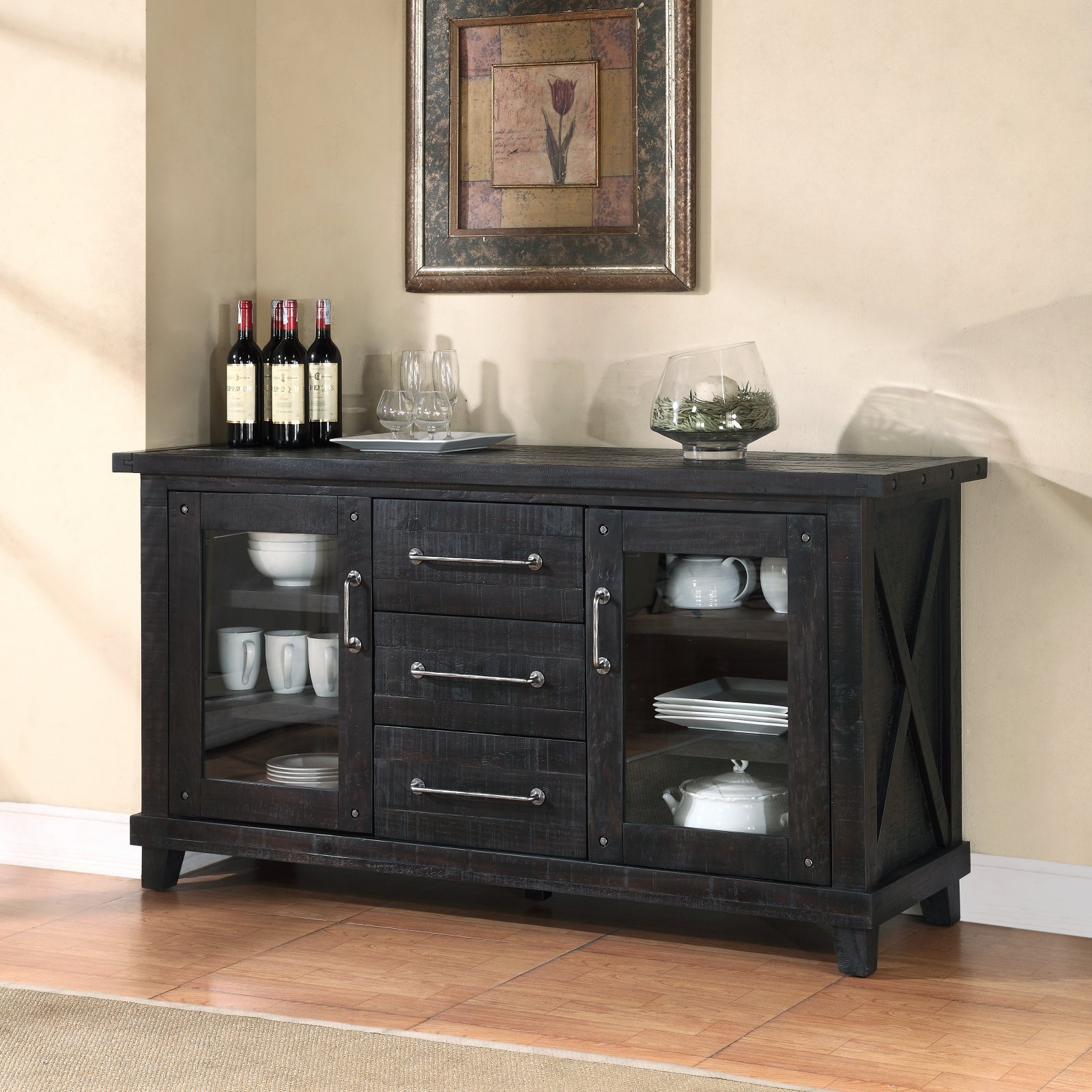 Modus Yosemite Solid Wood Sideboard - Cafe