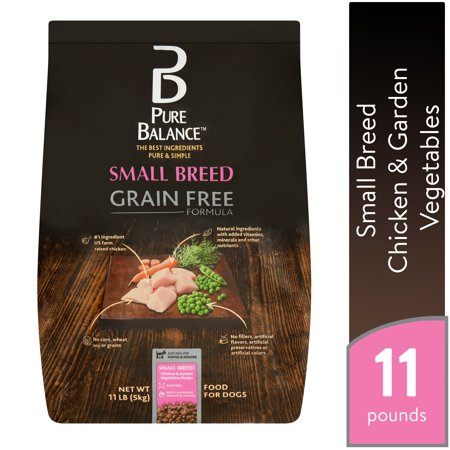 Pure Balance Small Breed Grain Free Formula Chicken & Garden Vegetables Recipe Food for Dogs, 11 lb Pure Breed Boxer