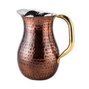 Old Dutch Hand-hammered 2.25-quart Copper Plated Water Pitcher by Overstock