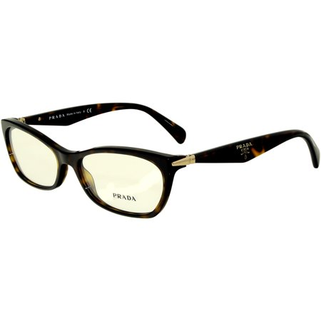 Prada Women's PR15PV-2AU1O1-55 Brown Rectangle (Cheap Prada Sunglasses Online)