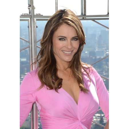 Elizabeth Hurley In Attendance For Elizabeth Hurley Celebrates 20Th Anniversary Of Estee Lauder Companies Campaign For Breast Cancer Awareness The Empire State Building New York Ny October 1 2012 Phot
