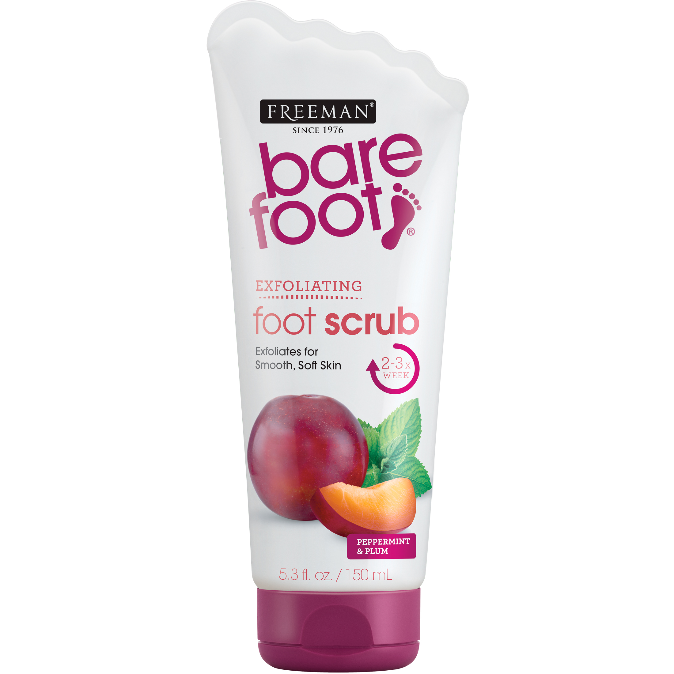 Freeman Bare Foot Creamy Pumice Foot Scrub, 5.3 fl oz