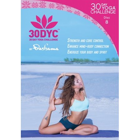 Dashama Konah Gordon: 30 Day Yoga Challenge Disc 8
