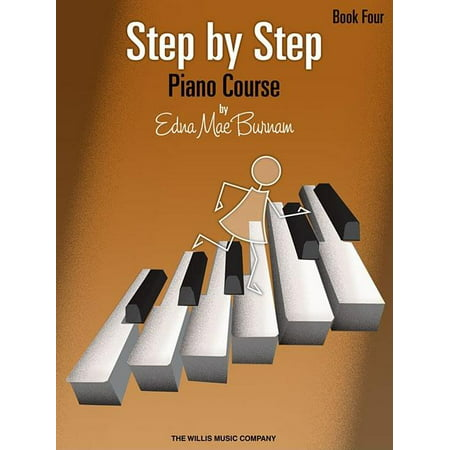 Step by Step Piano Course - Book 4 (Paperback)