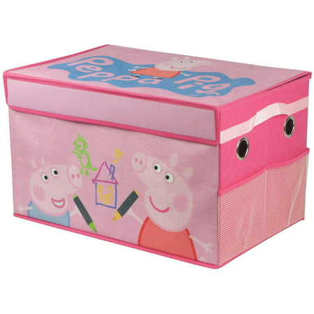 Peppa Pig Collapsible Toy Storage Trunk - Pappe Pig