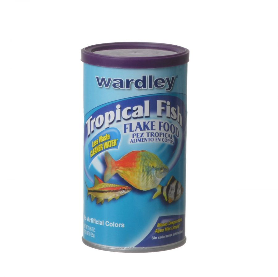 Wardley Tropical Fish Flake Food 1.95 oz - Pack of 2