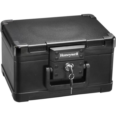 Honeywell 0.15 cu. ft. 30-Minute Fire Molded Chest with Key Lock,