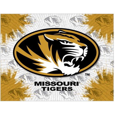 "Missouri 24"" x 32"" Officially Licensed Logo Canvas by the Holland Bar Stool Co."