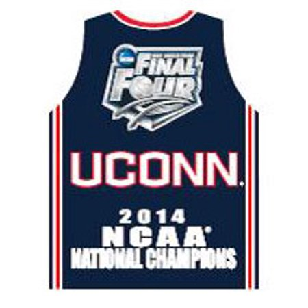- Uconn Huskies 2014 NCAA Basketball Men's National Champs Jersey Pin