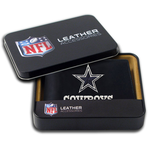 NFL - Men's Dallas Cowboys Embroidered Billfold Wallet