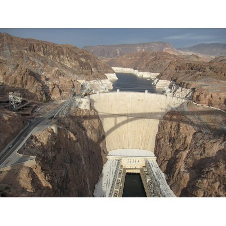 LAMINATED POSTER Electricity Power Water Energy Dam Hydroelectric Poster Print 11 x -