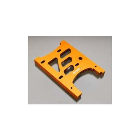 Savage Motor Plate - Integy RC Toy Model Hop-ups T6978ORANGE HD Engine Heatsink Plate for HPI Savage XL & X 4.6 RTR