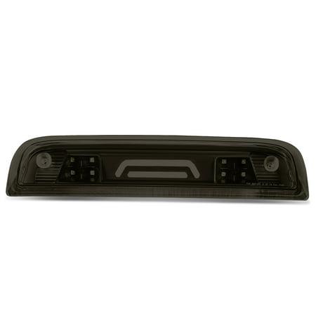 For 14-18 Chevy Silverado / GMC Sierra High Mount 3D LED 3rd Third Brake Light / Cargo Lamp (Black Smoked)