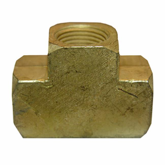 0.375 in. Female Pipe Brass Tee - image 1 of 1