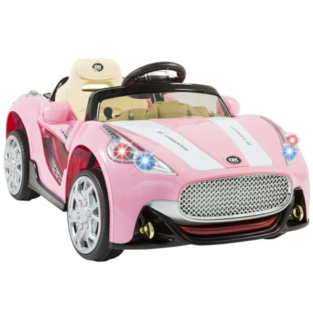 best choice products 12v ride on car kids rc car remote control electric battery power w