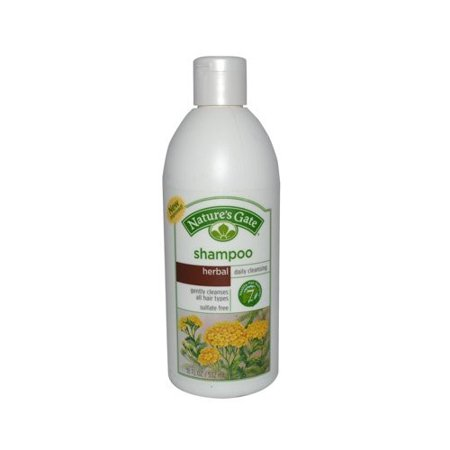 Nature's Gate Daily Cleansing Shampoo for All Hair Types, Herbal, (Natures Gate Red Shampoo)