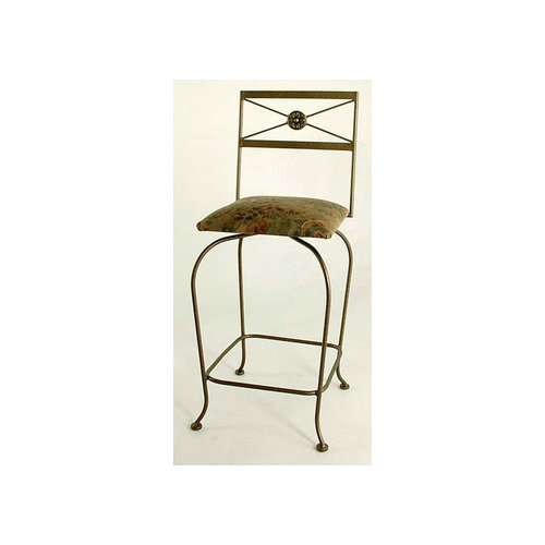Grace Collection Neoclassic Swivel Bar Stool